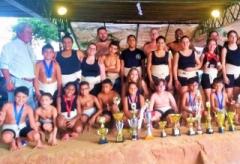 A equipe conquistou o título de Campeã Geral Feminina do 41º Campeonato Regional de Sumô
