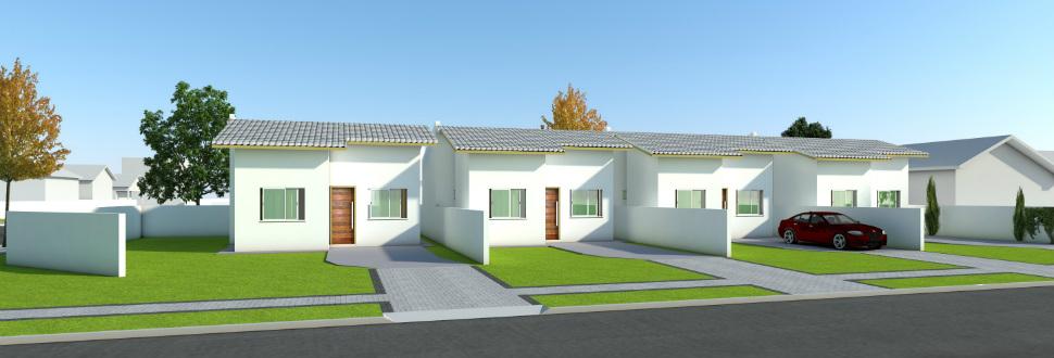 Casas com 55,00 m² no Bairro Fraron