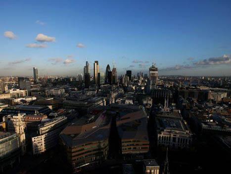 Vista de Londres: 85% das compras de imóveis de alto padrão em 2012 foram feitas por estrangeiros, diz entidade