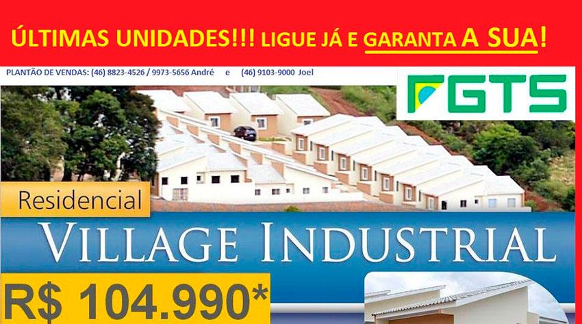Residencial Village Industrial - ÚLTIMAS UNIDADES!