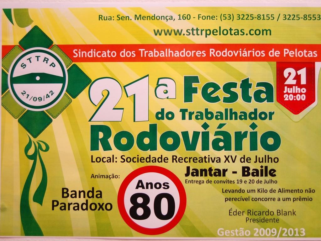 21ª Festa do Motorista
