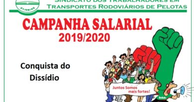 Conquista do Dissídio 2019/2020