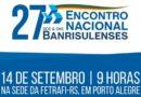 Encontro Nacional dos/das banrisulenses ocorrerá neste sábado, 14 de setembro