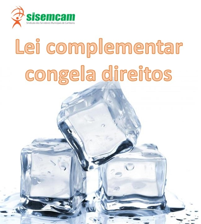 LEI CONGELA DIREITO DOS SERVIDORES