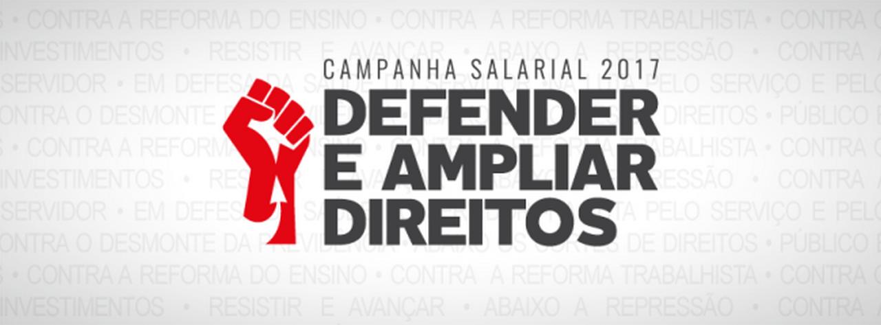 Coloque a arte da Campanha Salarial na capa do perfil do seu Facebook