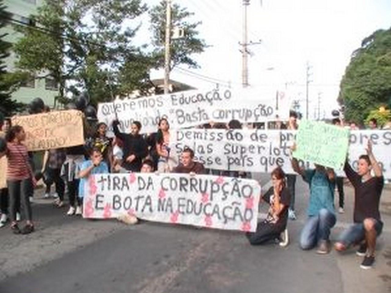 Estudantes do Médici participarão das novas manifestações. Foto: João Diego