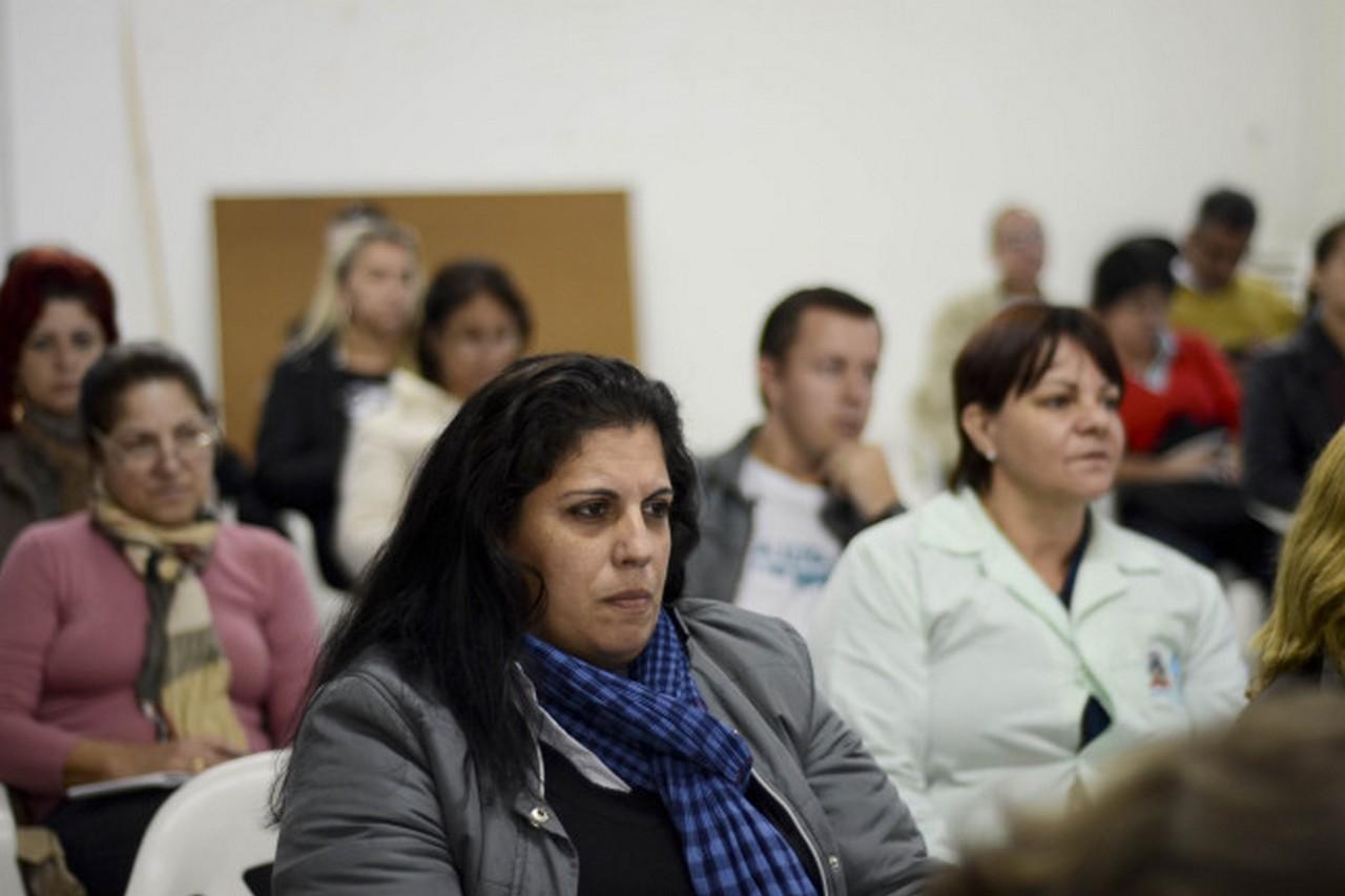 Foram esclarecidas dúvidas sobre a greve I Foto: Francine Hellmann