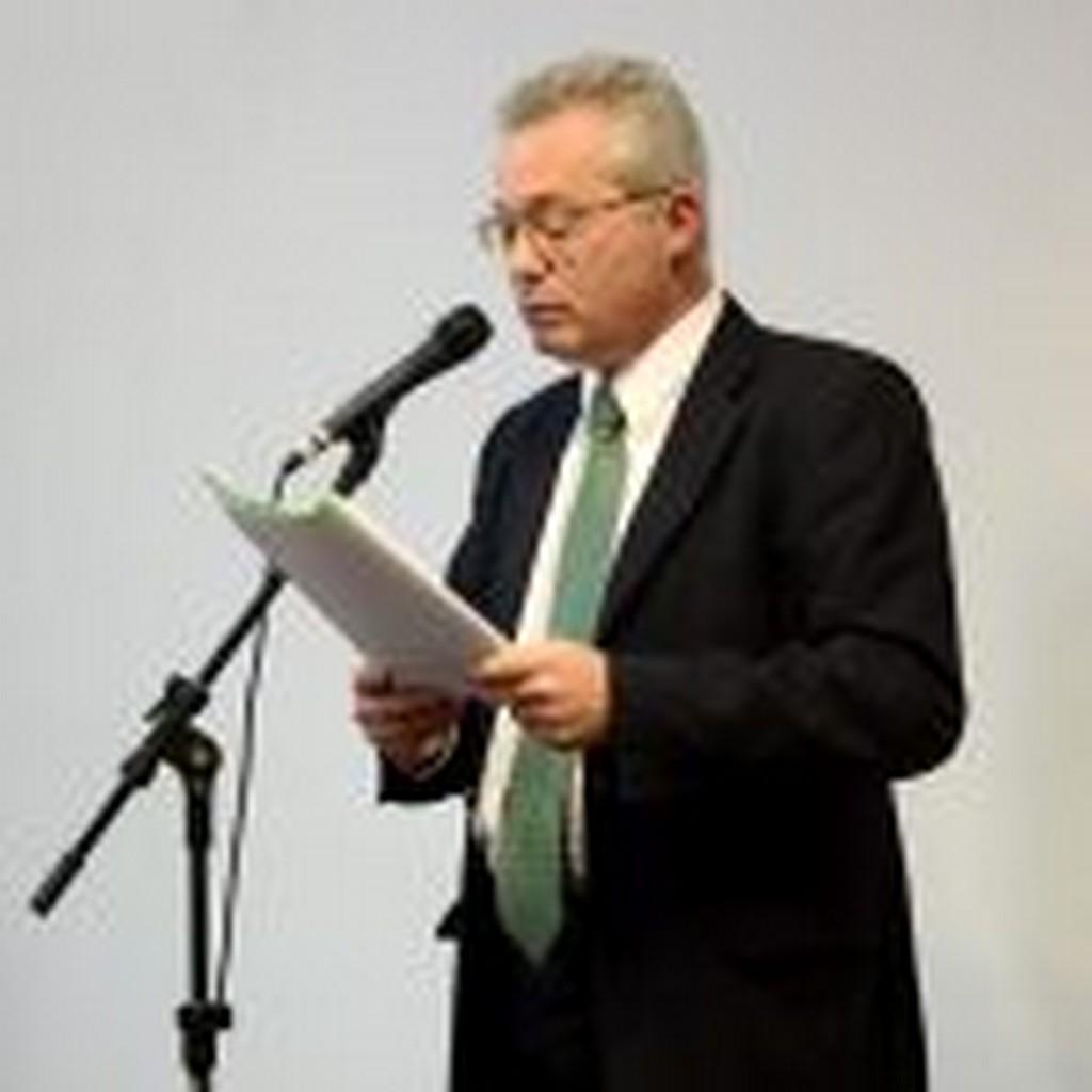 Diretor executivo do gabinete, Luiz Cláudio Gubert, apresentou o projeto I Foto: Francine Hellmann