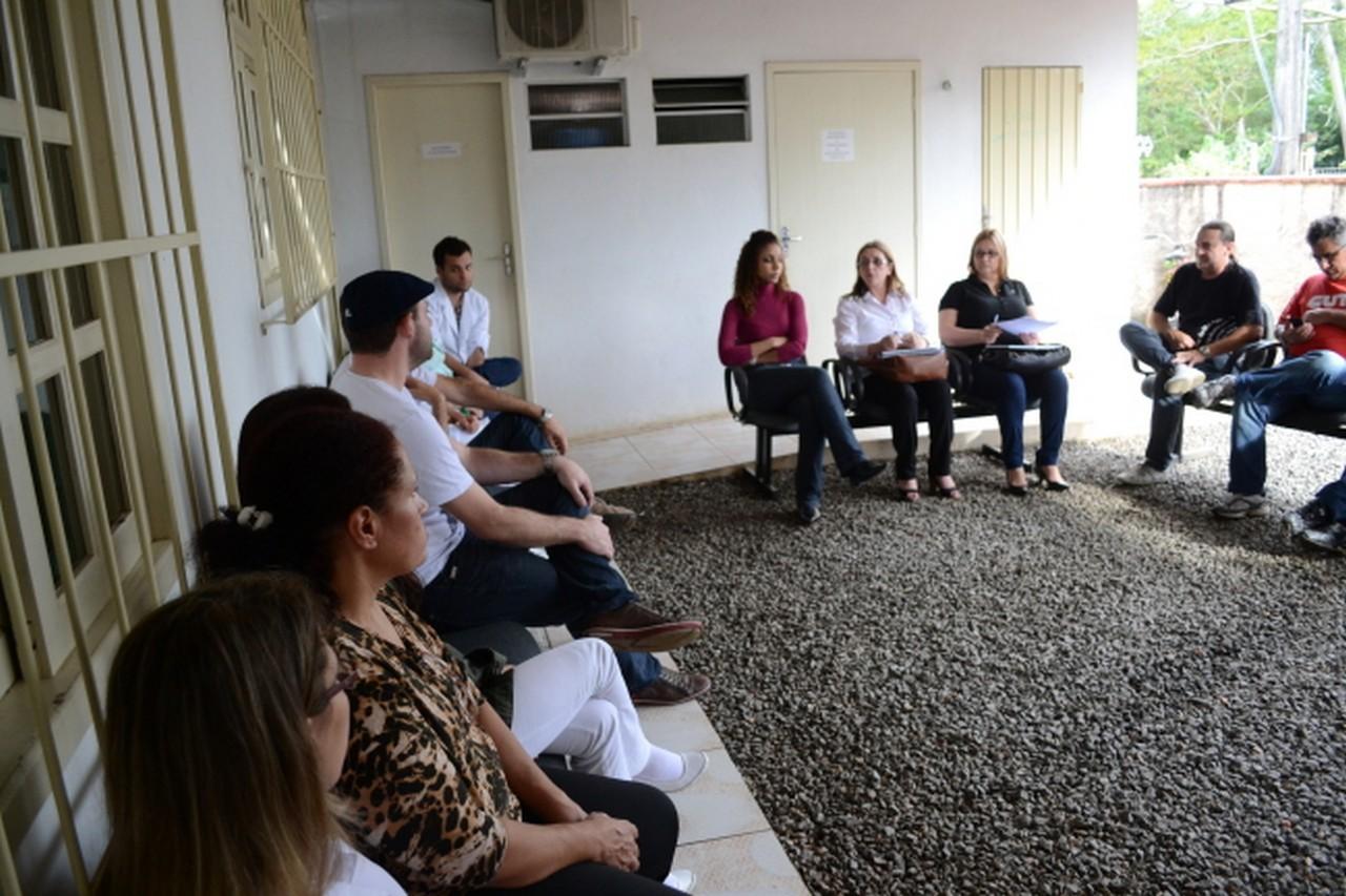 Reunião na Unidade III, no Paraíso | Foto: João Diego