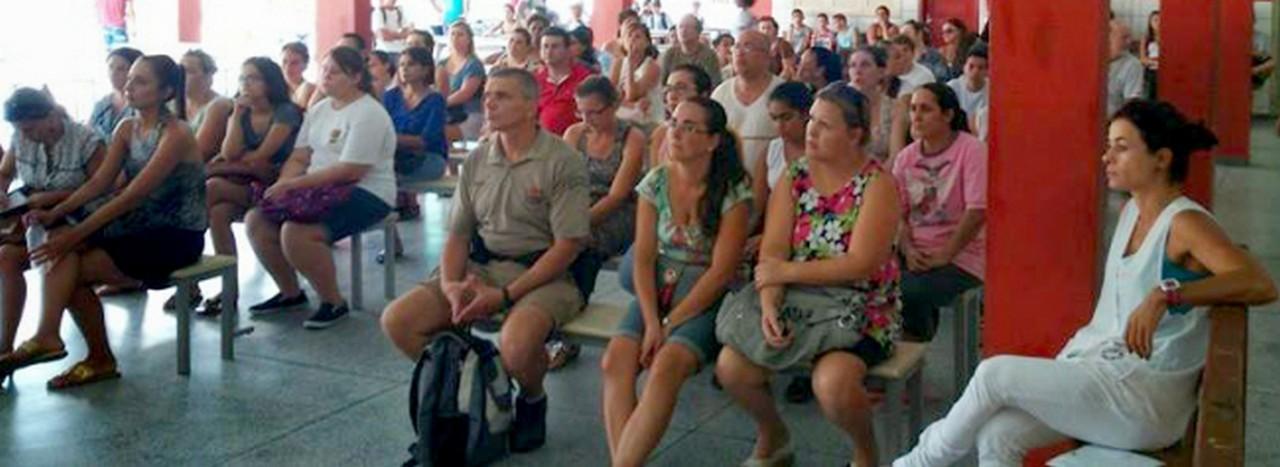 Escolha João Martins Veras adiou o reinício das aulas por falta de condições estruturais I Foto: Sinte