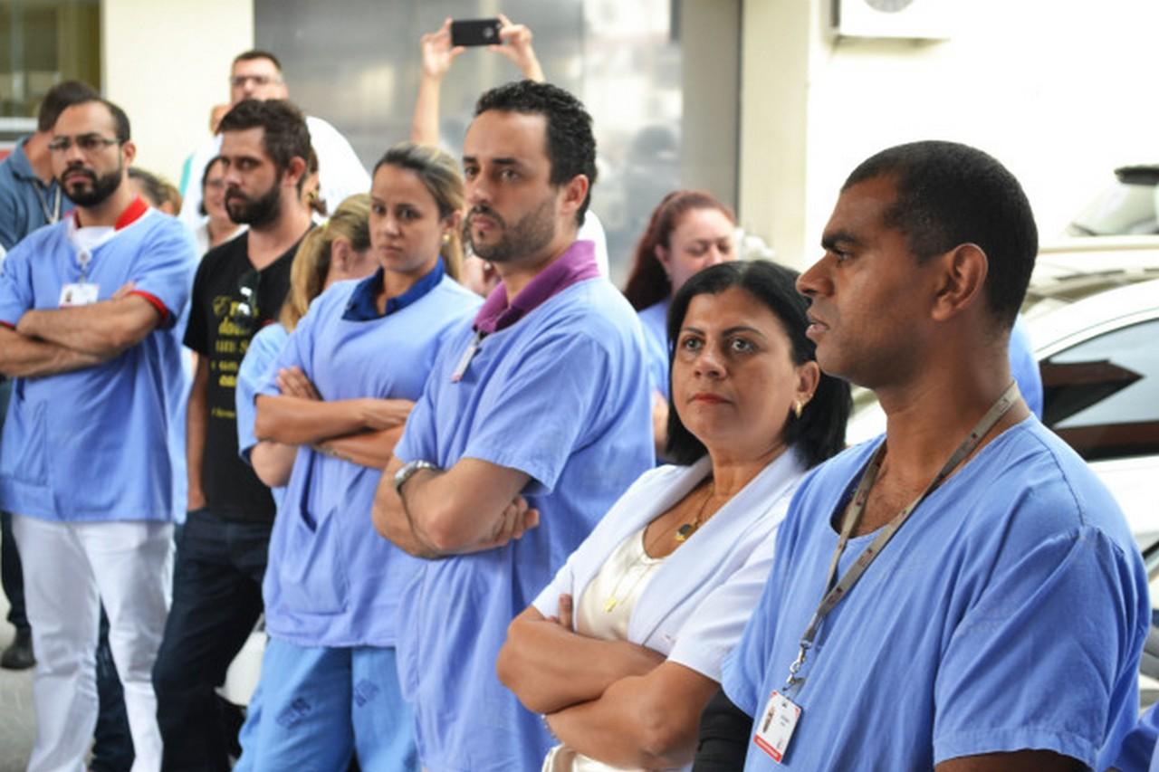 Servidores do São José paralisaram novamente suas atividades.