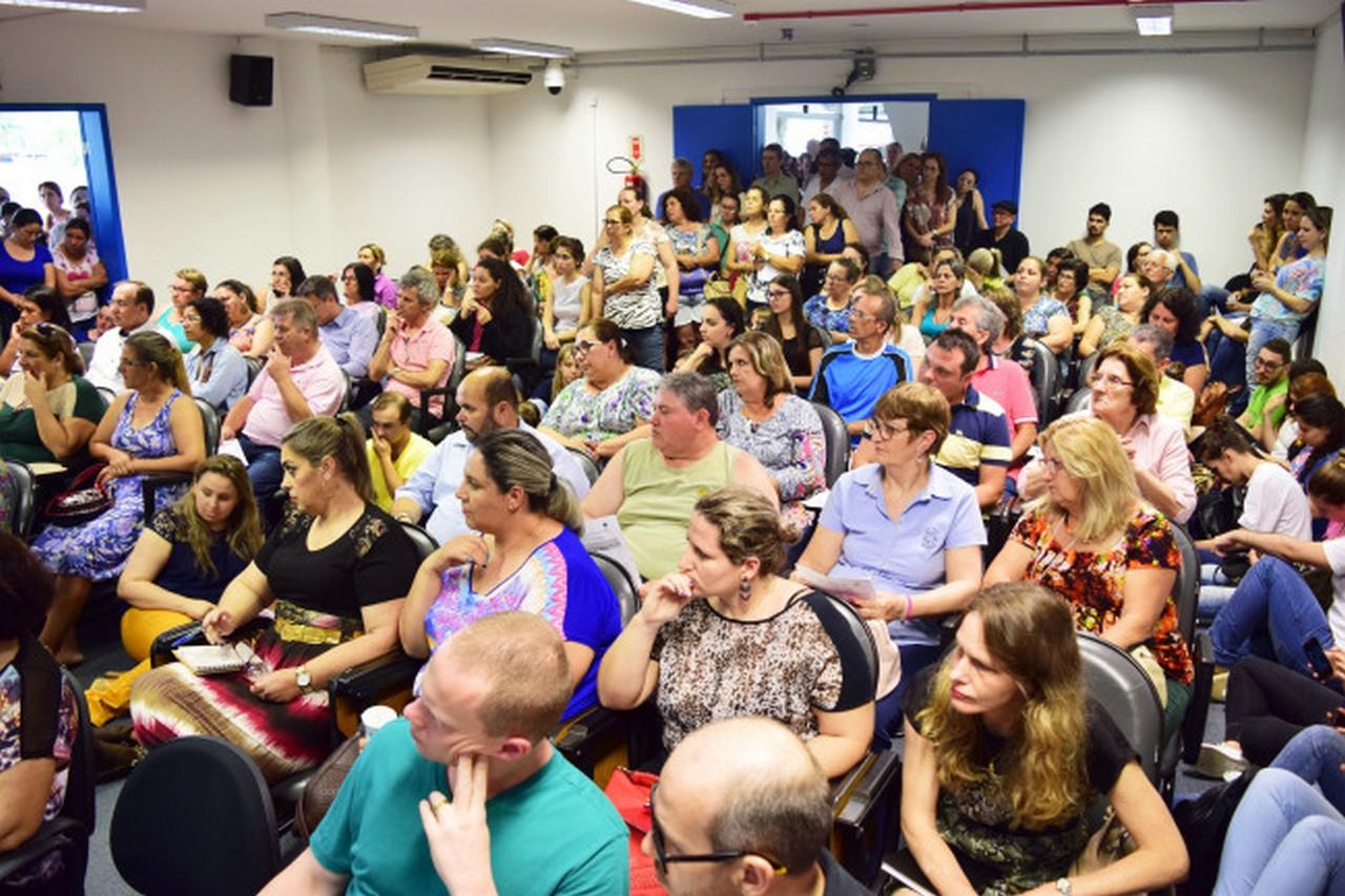 A decisão sobre a paralisação aconteceu após assembleia do Conselho Municipal de Saúde I Foto: Aline Seitenfus