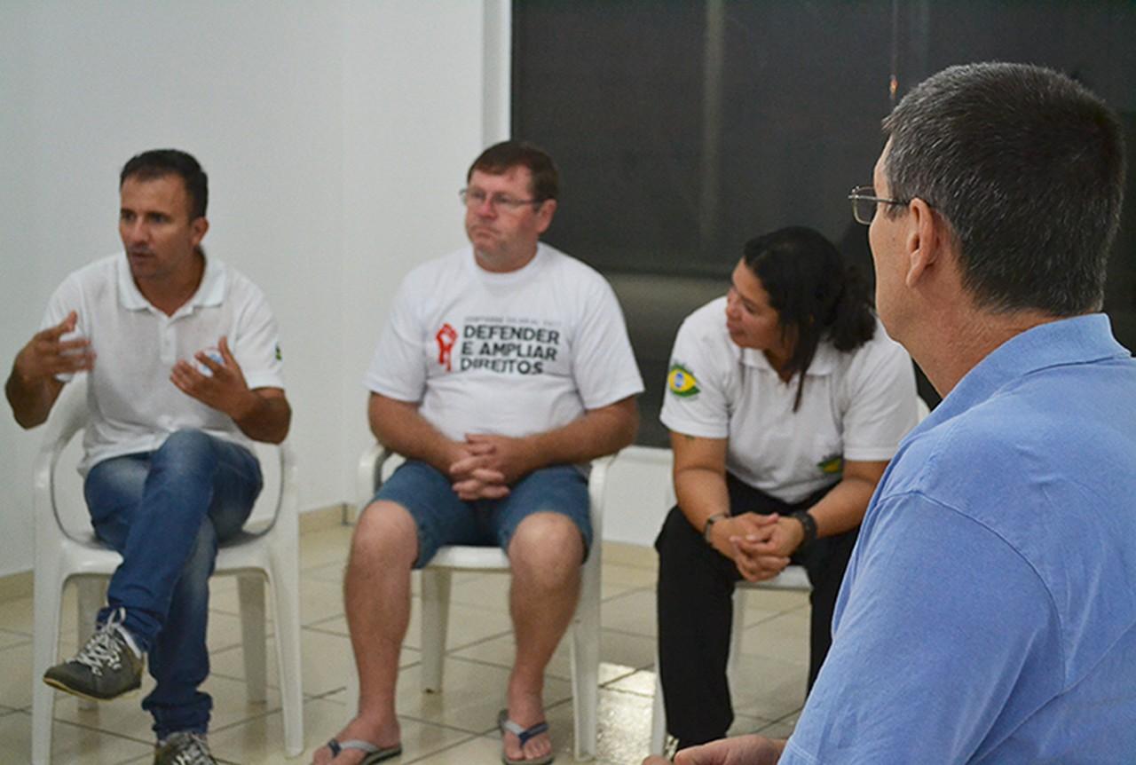Servidores de Garuva aguardam nova audiência entre sindicato e governo I Foto: Aline Seitenfus
