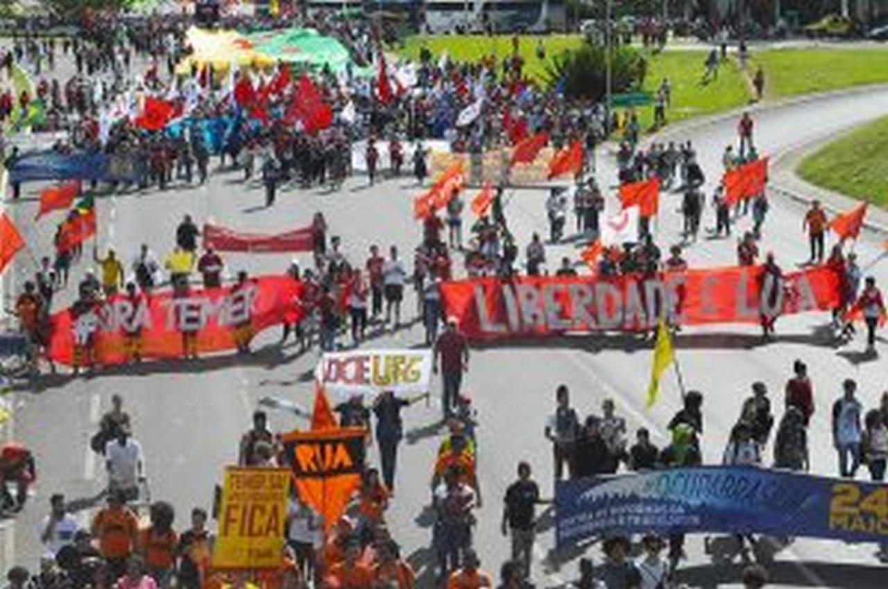 Ao lado dos trabalhadores e da juventude contra Temer, o Congresso e suas reformas I Foto Stefany Peixer
