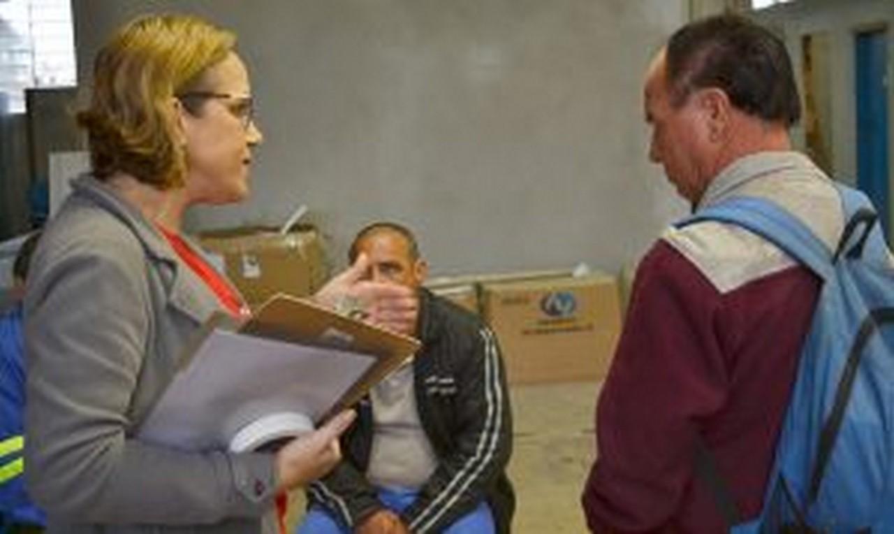 Servidores da Subprefeitura Sul solicitaram novo ponto biométrico I Foto: Aline Seitenfus