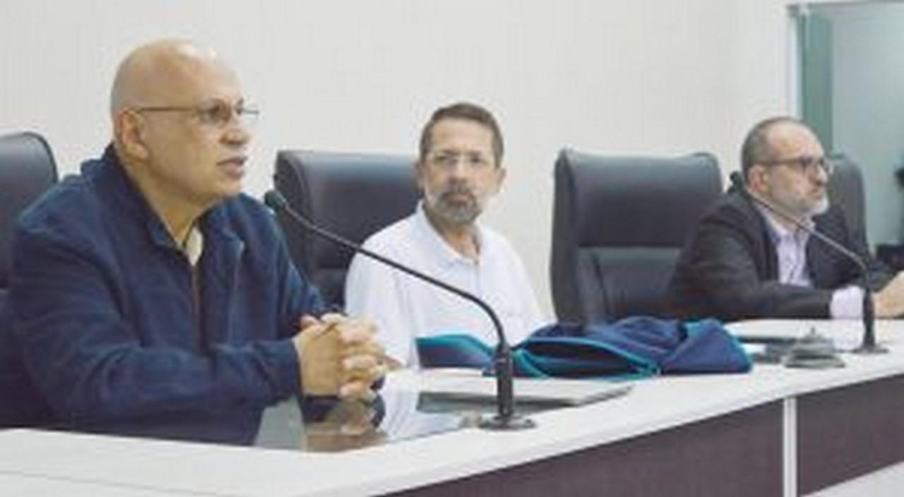 Luiz Bicalho falou do surgimento da previdência I Foto: Aline Seitenfus