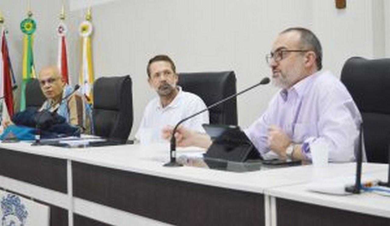 Luiz Gustavo falou dos regimes próprios, como o Ipesi I Foto: Aline Seitenfus