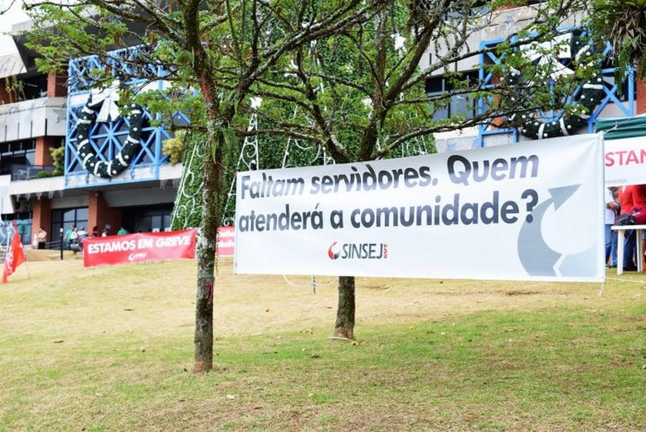 Há um mês o prefeito evita discutir os motivos da greve | Foto: Aline Seitenfus