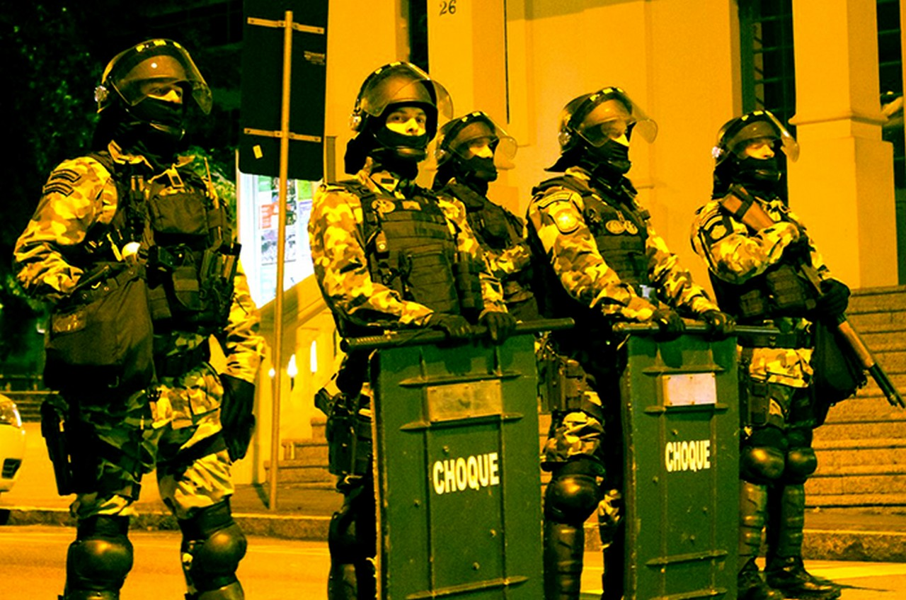 Violência tem sido a marca de Gean Loureiro (MDB)   Foto: Sintrasem