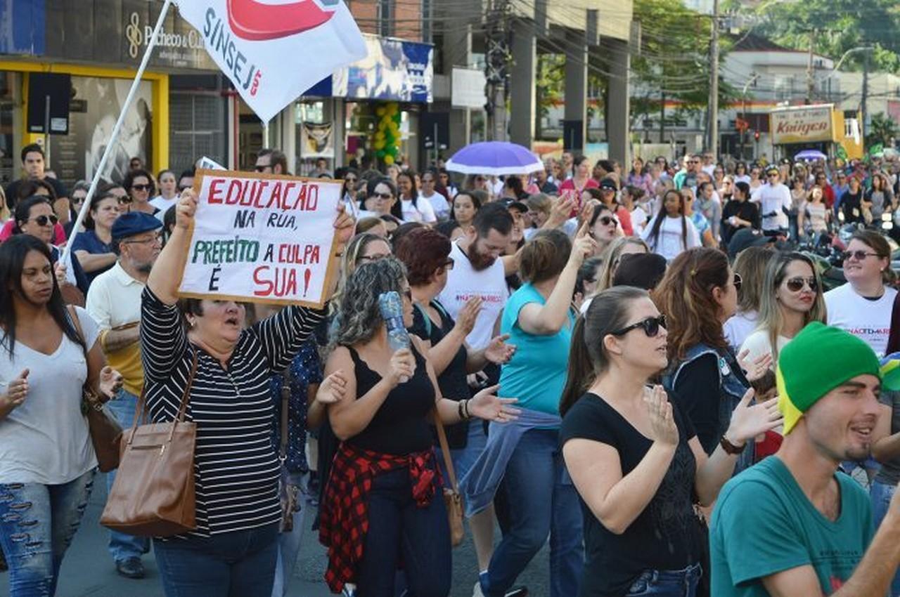 A única alternativa é construir uma grande greve por tempo indeterminado | Foto: Aline Seitenfus