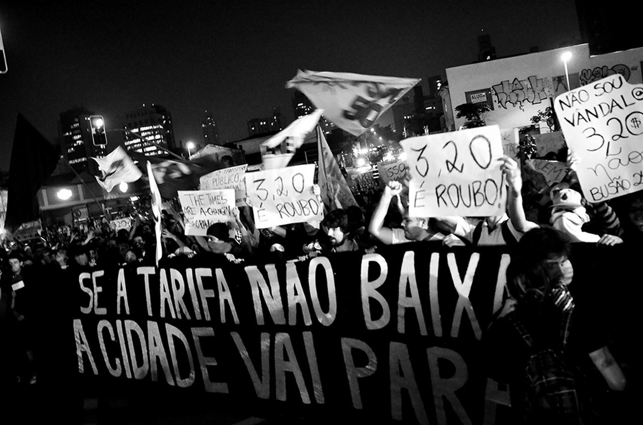 manifestação 2013