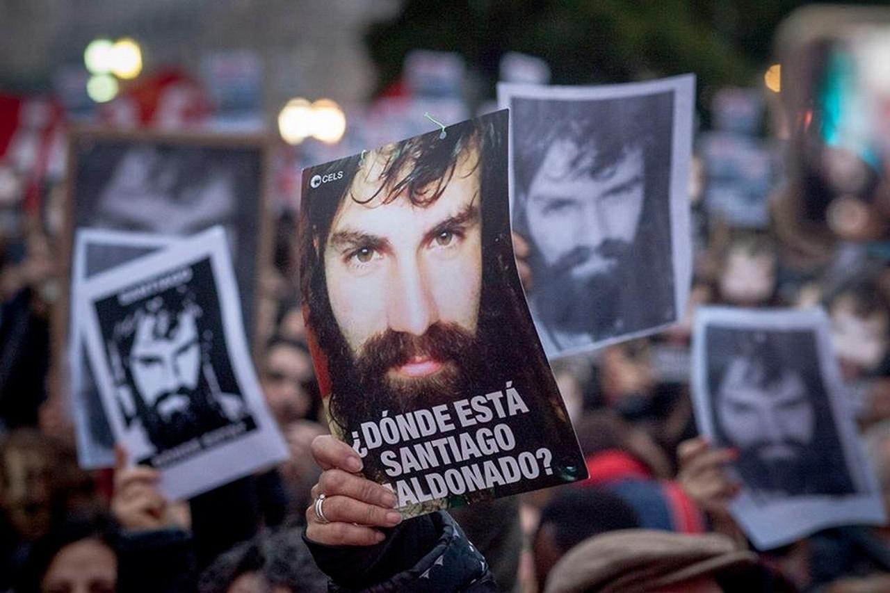 Santiago foi detido em agosto e meses depois foi encontrado morto em rio, na Argentina | Foto: Revista Fórum/Divulgação