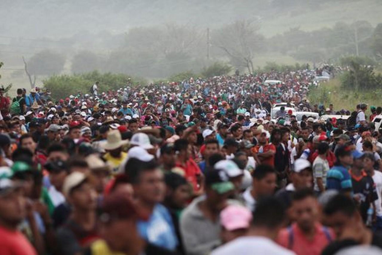 Os migrantes ainda estão a 1,5 mil quilômetros dos EUA | Fotos: Rodrigo ABD, AP