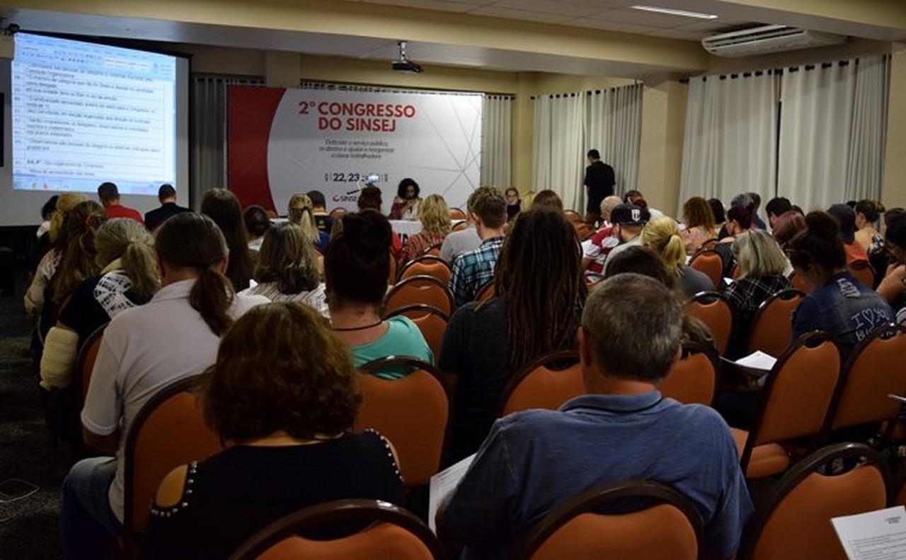 Delegados elegeram tese guia | Foto: Kályta Morgana de Lima