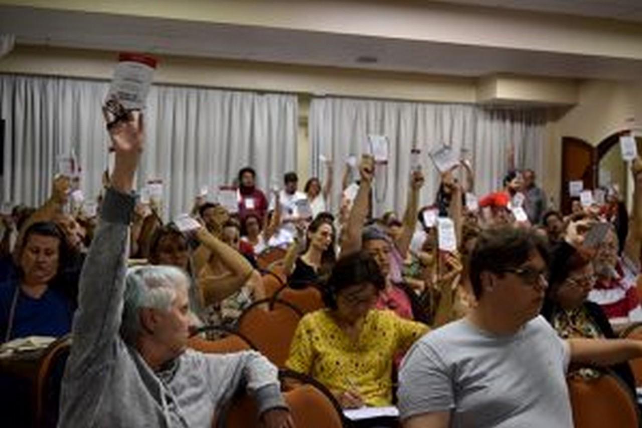 Amanhã, serão discutidas emendas à tese | Foto: Kályta Morgana de Lima