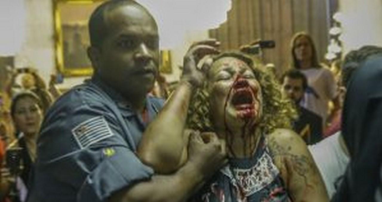 'Professores foram vítimas de forte repressão na quinta passada