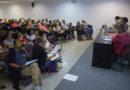 Reunião dos professores das Escolas Integrais com a Sec. de Educação