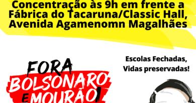 Carreata pelo Fora Bolsonaro e vacinação para tod@s