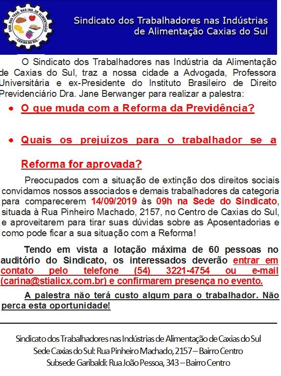 PALETRA DIREITO PREVIDÊNCIÁRIO 14/09. PARTICIPE
