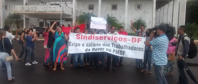 GDF judicializa e Sindiserviços-DF libera o pagamento  de direitos dos terceirizados na limpeza da PMDF