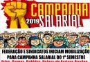 INFORMATIVO STIAM: Campanha Salarial 2019