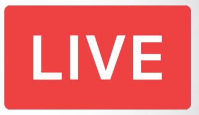Participe da Nossa Live! Sábado dia 04/07 às 19:00 horas!