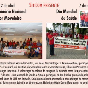 Siticom presente no Seminário Nacional do Setor Moveleiro