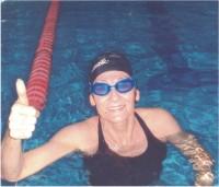 Nadadora paraatleta Maria Helena Riegel Eggert