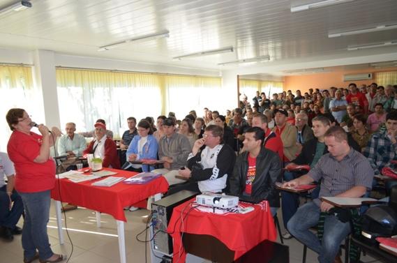 Assembleia da Campanha Salarial realizada dia 22 de junho de 2013
