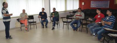 Dirigentes sindicais participam da mais  uma etapa do Curso de Formação