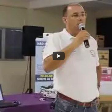 Presidente ZÉ CARLOS abre Show de Prêmios SINECOFI 2015