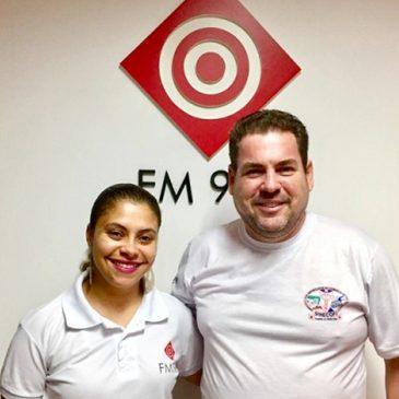Quarta-feira (14), tem entrevista na 97.7 FM