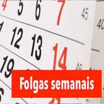 FOLGA SEMANAL DEVE SER USUFRUÍDA DENTRO DE SETE DIAS, DECIDE TRT-6