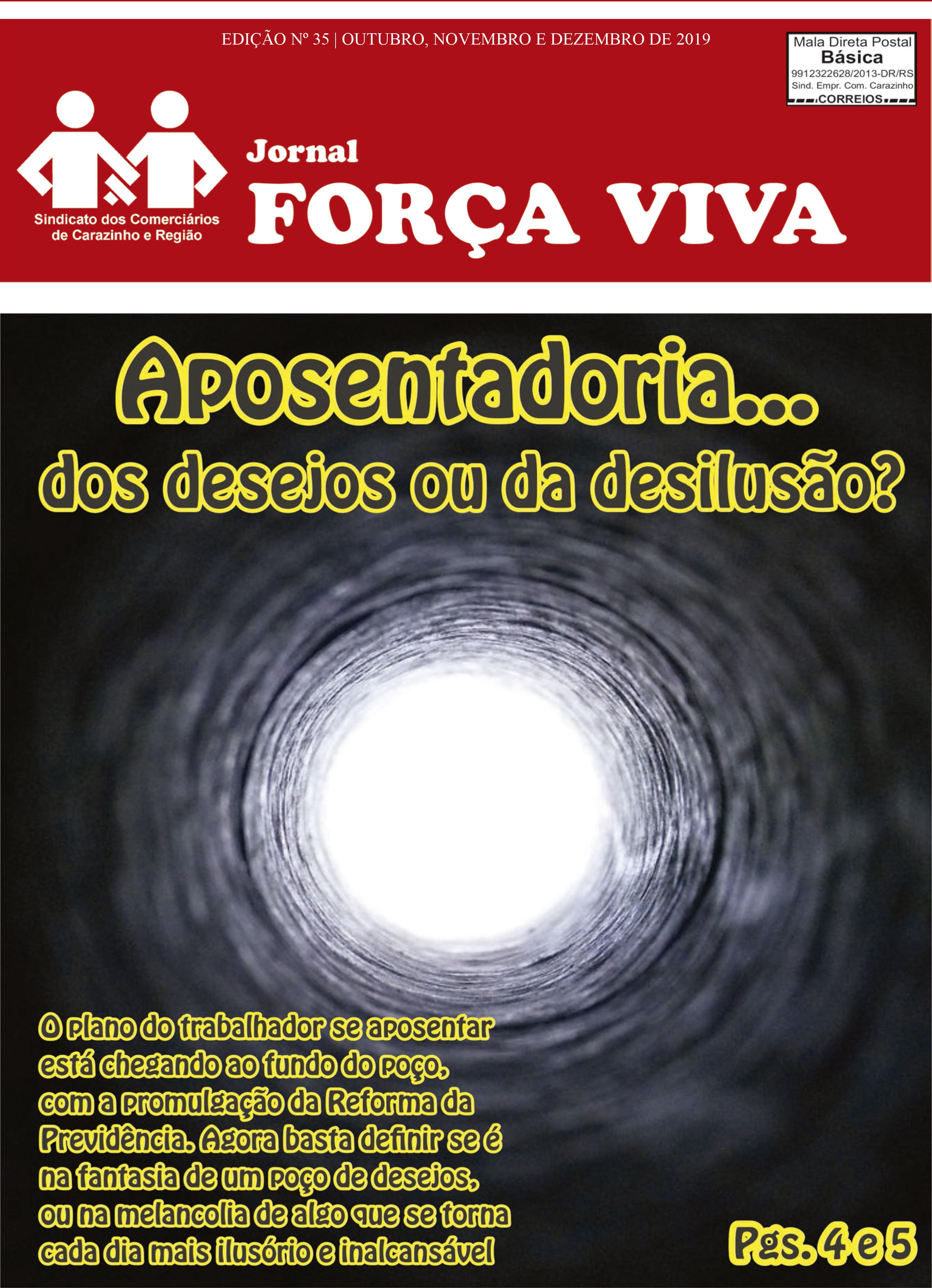 Edição 35, outubro, novembro e dezembro de 2019