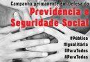 22/11 – Dia Nacional de Mobilização em defesa da Previdência Social