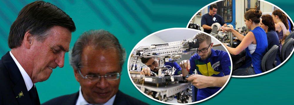 Governo acabará com férias, 13º e FGTS para trabalhadores jovens