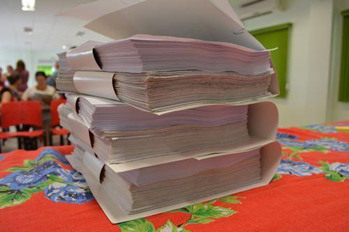 SITESPM-CHR protocola Projeto de Lei de Iniciativa Popular na Câmara de Vereadores de Chapecó
