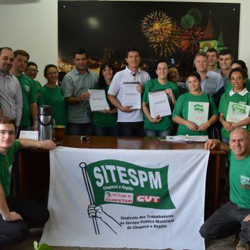 SITESPM-CHR protocola na Câmara de Vereadores Projeto de Lei de Iniciativa Popular.
