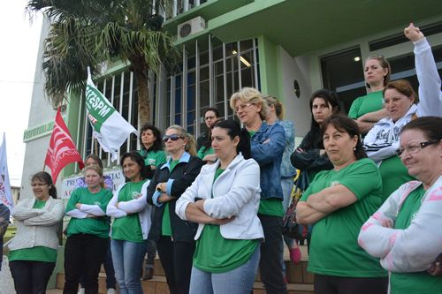 Sindicato mantém greve dos Auxiliares de Enfermagem em Xaxim
