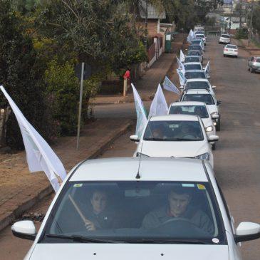 Carreata dos Servidores da prefeitura de Xaxim é realizada